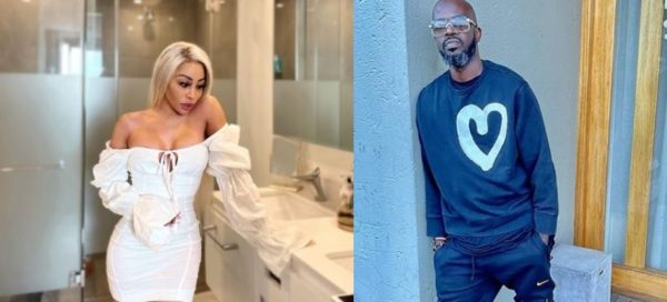 """Khanyi Mbau shows support to Black Coffee following release of his album, """"Subconsciously"""""""