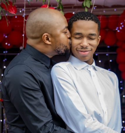 Watch how Lasizwe's new man surprised him on Valentines day