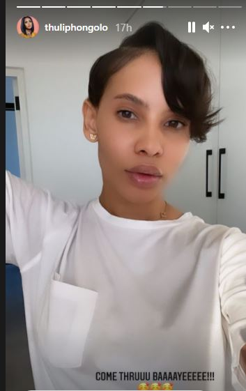 Thuli Phongolo debuts hot new pixie haircut