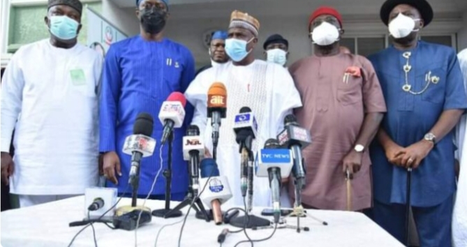 We will support FG fight against insecurity, PDP governors declare