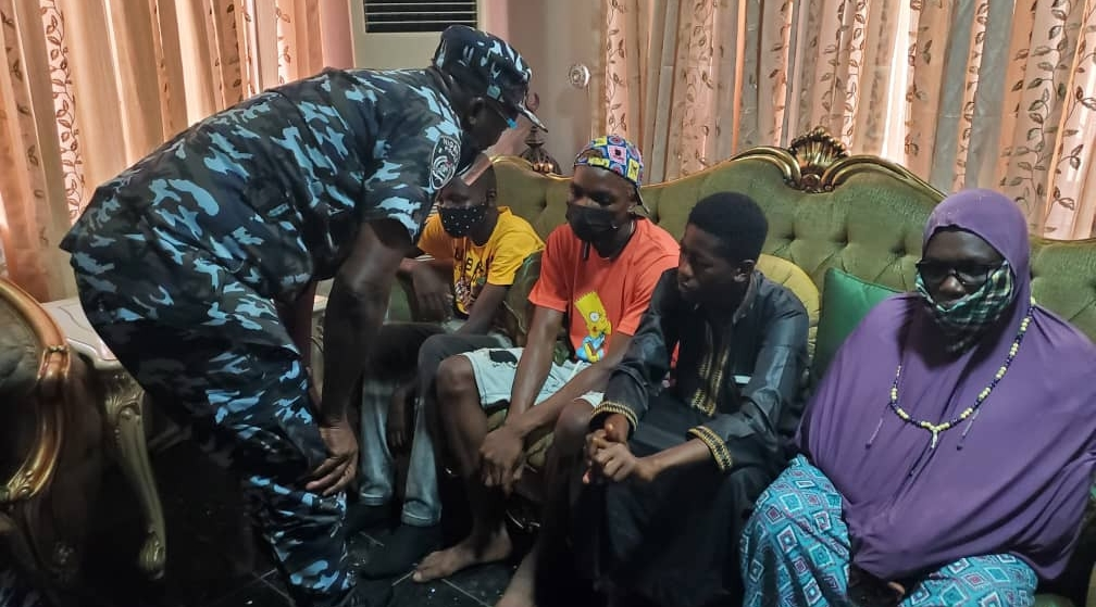 Lagos police commissioner visits relatives of man shot dead by policeman at a lounge
