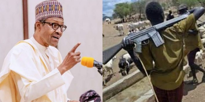 Buhari repeats shoot-on-sight order on AK-47 bearers