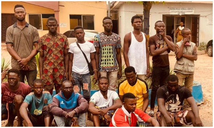 Rival cult groups clash in Lagos, 15 arrested