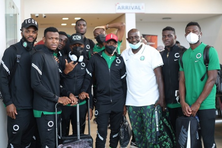 AFCON qualifiers: Super Eagles embark on boat trip to Benin Republic (Video)