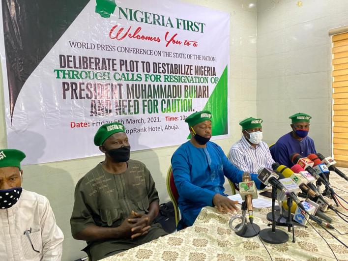 Group faults RevolutionNow protesters over calls for Buhari's resignation