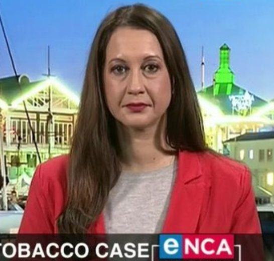 eNCA journalist, Lindsay Dentlinger apologizes after being dragged for being a racist
