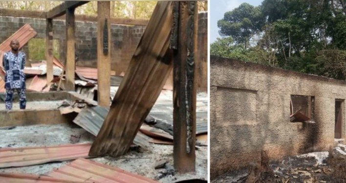 Artworks worth millions of naira destroyed as fire razes Artists' Village in Osogbo