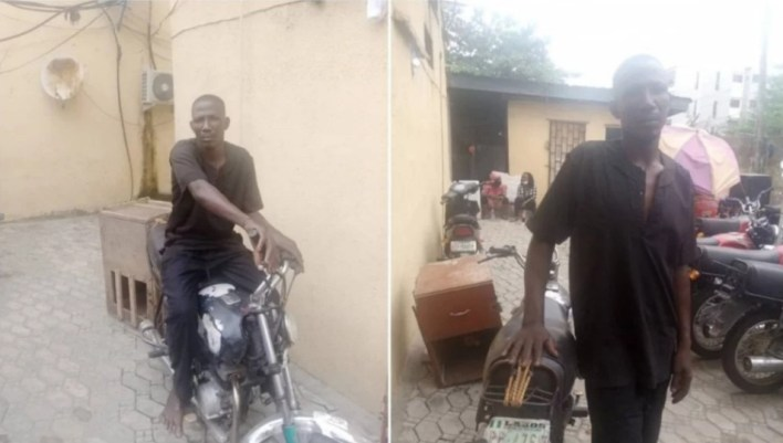 #EndSARS: Man, 32, who allegedly stole motorcycle from Lagos police station arrested
