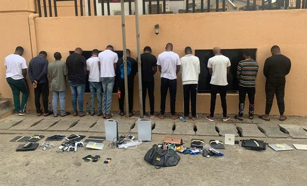EFCC smashes Abuja cybercrime syndicate, arrest 13 suspected yahoo boys