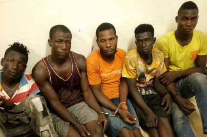 Police nab suspected traffic robbery Kingpins in Lagos