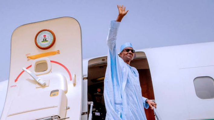BREAKING: Buhari leaves for 'routine medical check up' in London