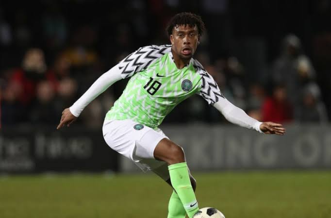 JUST IN: Super Eagles forward, Iwobi recovers from COVID-19