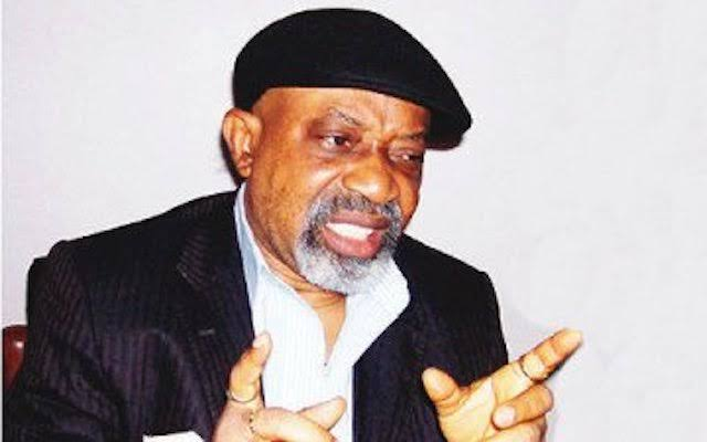Ngige: Buhari's govt has done more projects despite lean resources
