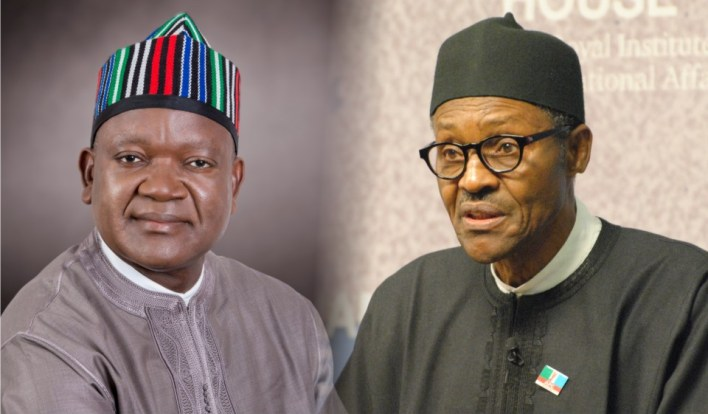 Buhari warns against politicising attack on Governor Ortom