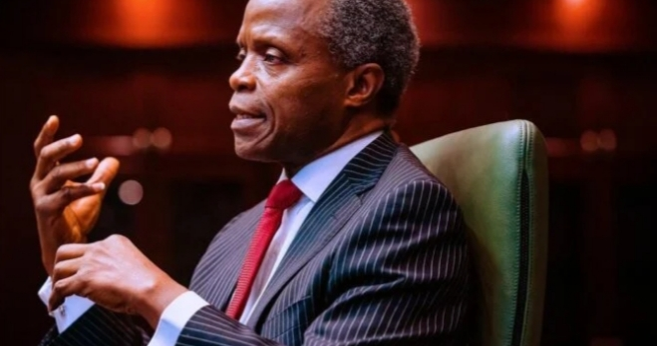 Refusal of elite to speak truth to power is the cause of crisis in Nigeria, says Osinbajo