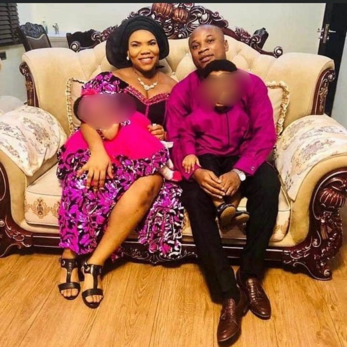 PHOTO: Lagos police arrest man over death of his pregnant wife