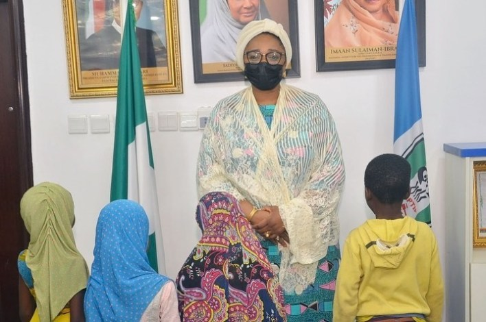 PHOTOS: NAPTIP hands over 5 trafficked children to their parents, arraigns suspect in court