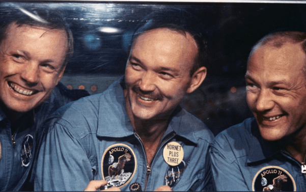 Michael Collins, pilot of the Apollo 11 mission to the moon, dies at 90
