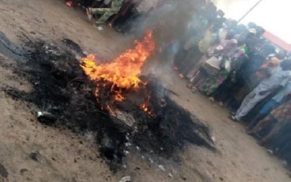 Jailbreak: Imo villagers set escaped prisoner ablaze