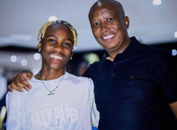 "Julius Malema gives Uncle Vinny fatherly advice on birthday – ""Don't do drugs & abuse of alcohol"""