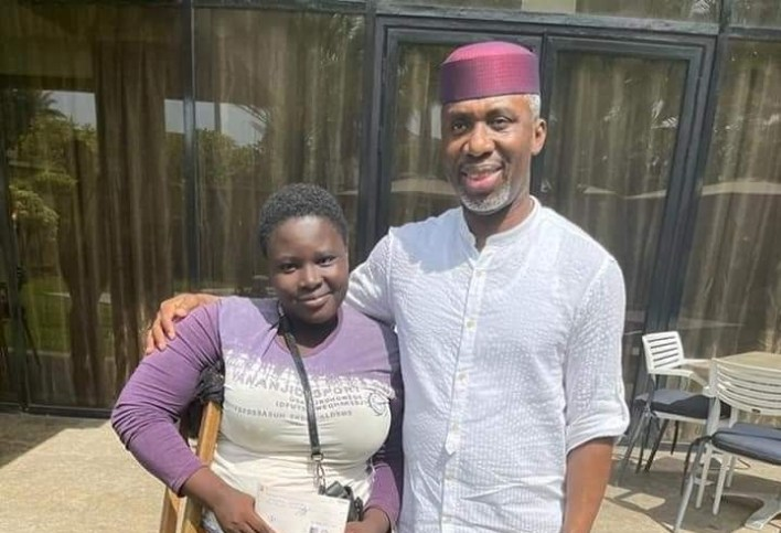 Okorocha's son-in-law donates N1m to 26-year-old amputee water hawker