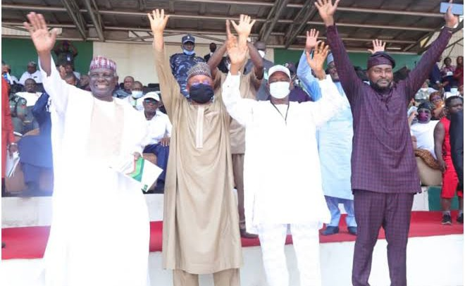 Ex-ministers Gana, Abah, four others rejoin PDP