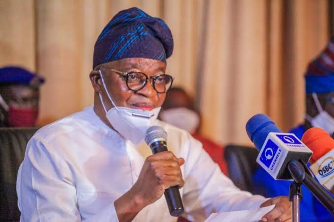 Is Oyetola happy about criminal activities of 'Omo-Onile' in Osun?
