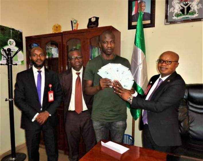 Fraud victim: EFCC returns recovered N67.5 million to Onitsha trader
