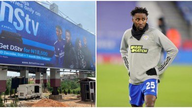 Wilfred Ndidi calls out DStv for using image on billboards without permission