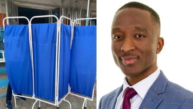 PHOTOS: 38-year-old Nigerian medic donates hospital equipments to rescue ailing hospital in village