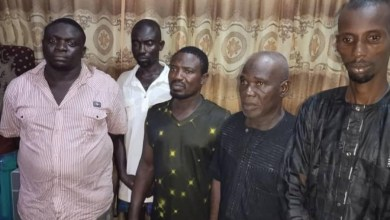 PHOTOS: Five suspected pipeline vandals arrested in Delta