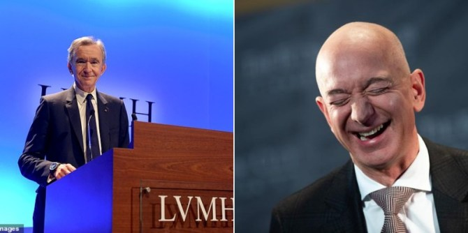 Fashion Tycoon, Bernard Arnault Becomes World's Richest Person Overtaking Jeff Bezos As LVMH Stock Rises