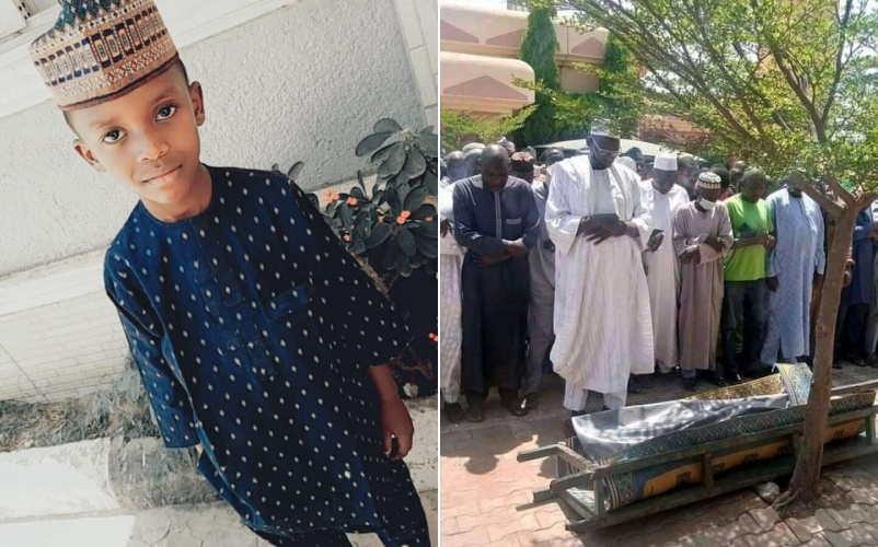 Update: 6-year-old boy killed by abductors after ransom payment laid to rest in Kaduna (Photos)