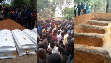 PHOTOS: Victims of herdsmen attacks buried in Benue amid tears
