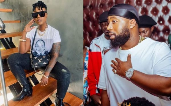 Lamiez Holworthy claims to be on the same page with Cassper Nyovest