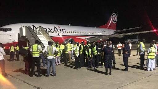 Emir of Kano, other passengers escape death as Abuja-bound Max Air develops engine fault