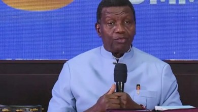 JUST IN: Pastor Adeboye makes first public appearance after son's death