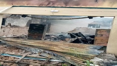 JUST IN: INEC office in Abia set ablaze