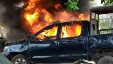 BREAKING: Gunmen attack another police facility in Akwa Ibom, set vehicles ablaze