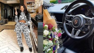 Pearl Modiadie buys herself a luxurious car to celebrate mother's day