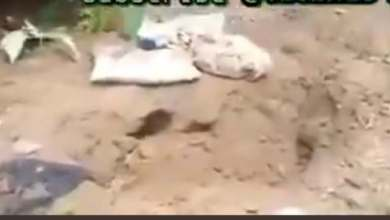 Videos: Shallow graves where serial killer buried Hiny Umoren and other victims
