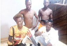 Police arrest four suspected traffic robbers in Lagos