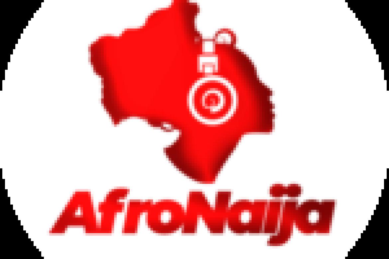 Arizona Cardinals wide receiver Larry Fitzgerald (11) runs in front of wide receiver DeAndre Hopkins.