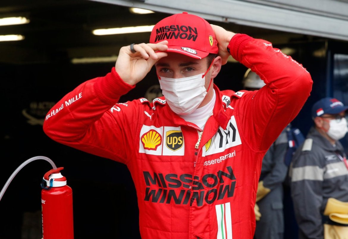 Charles Leclerc takes pole in Monaco GP