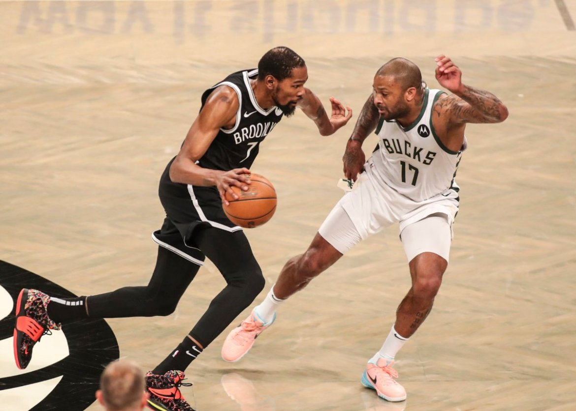 Kevin Durant of Brooklyn Nets