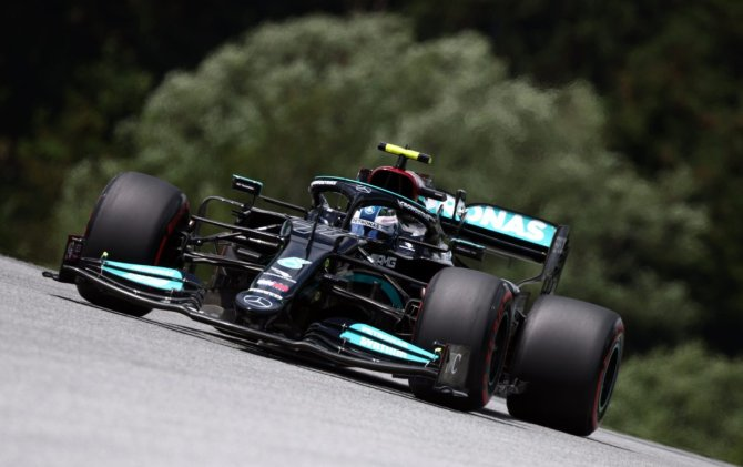 Lewis Hamilton at the Red Bull Ring