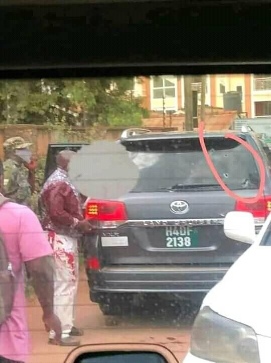 PHOTOS: Uganda Minister Survives Assassination Attempt; Daughter And Driver Killed