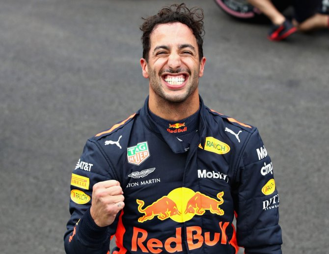 Daniel Ricciardo during his Red Bull F1 days