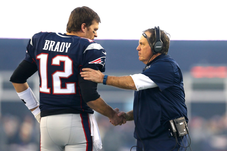 Bill Belichick & Tom Brady New England Patriots
