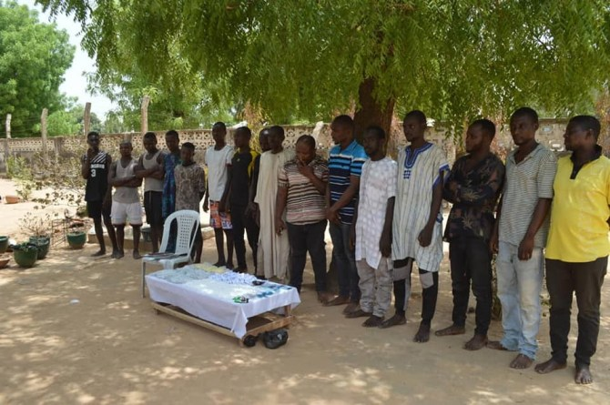 Photos: 42 notorious thugs, 21 drug dealers arrested, illicit drugs worth over N32m recovered in Kano